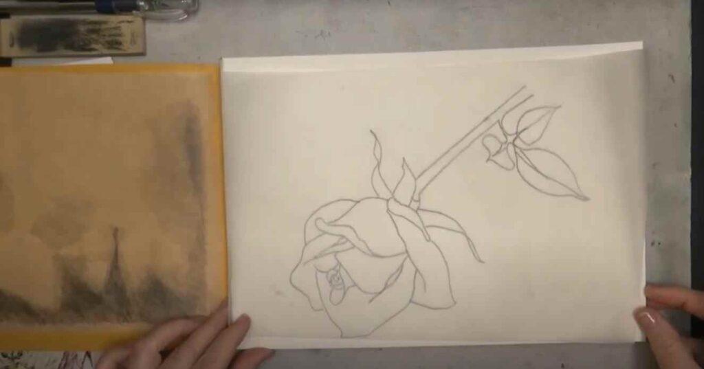 foto 1 16 – Как перенести (копировать) чертеж или рисунок с одного листа бумаги на другой