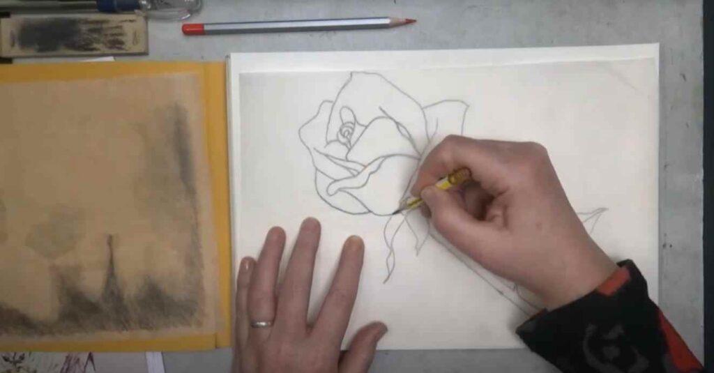 foto 2 18 – Как перенести (копировать) чертеж или рисунок с одного листа бумаги на другой