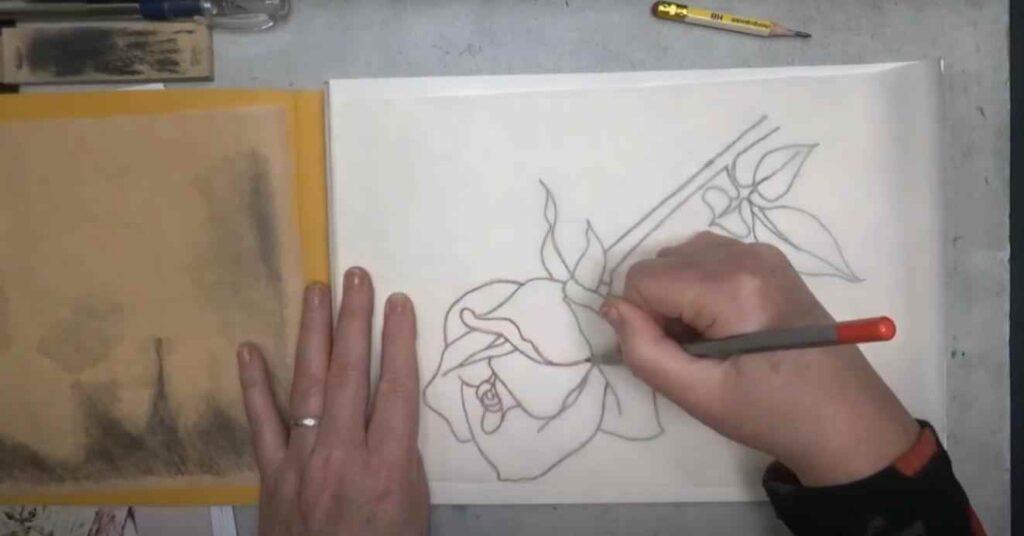 foto 4 12 – Как перенести (копировать) чертеж или рисунок с одного листа бумаги на другой