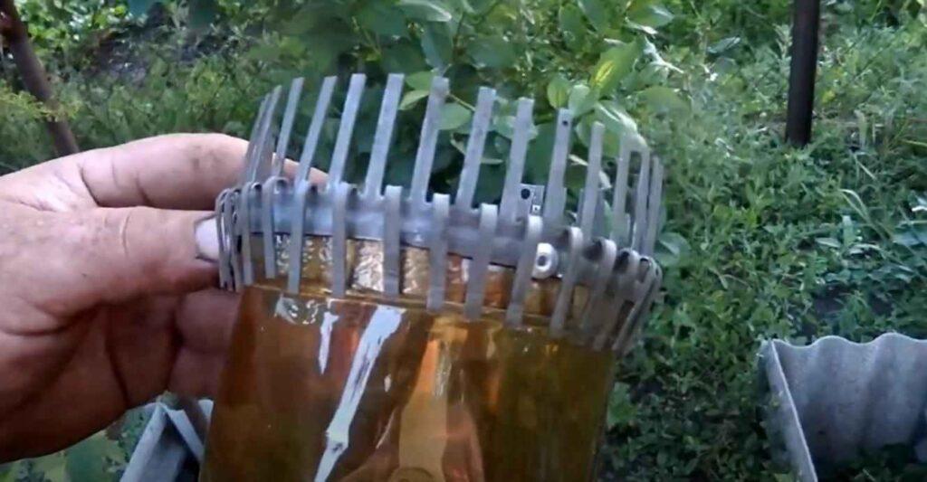 foto 6 3 – Нехитрое приспособление для сбора вишни и черешни