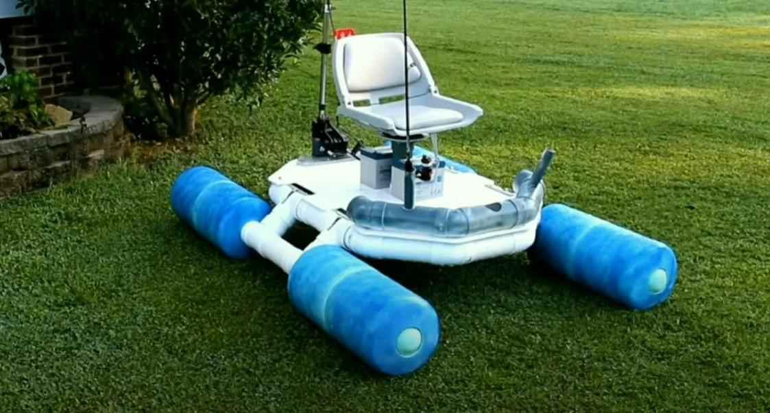 prevyu – Как сделать небольшую лодку из пластиковых труб