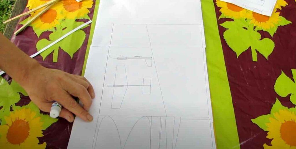 foto 1 – Постройка модели планера из доступных материалов