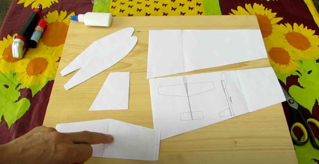 foto 2 – Постройка модели планера из доступных материалов
