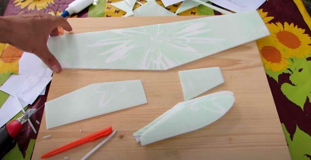 foto 4 – Постройка модели планера из доступных материалов