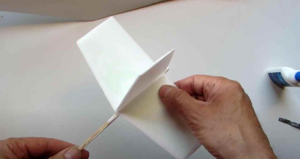 foto 6 – Постройка модели планера из доступных материалов
