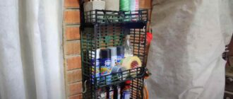 na prevyu – Дешево и просто: как сделать полку из пластикового ящика