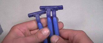 na prevyu 6 – Удобная ручка из бритвенного станка