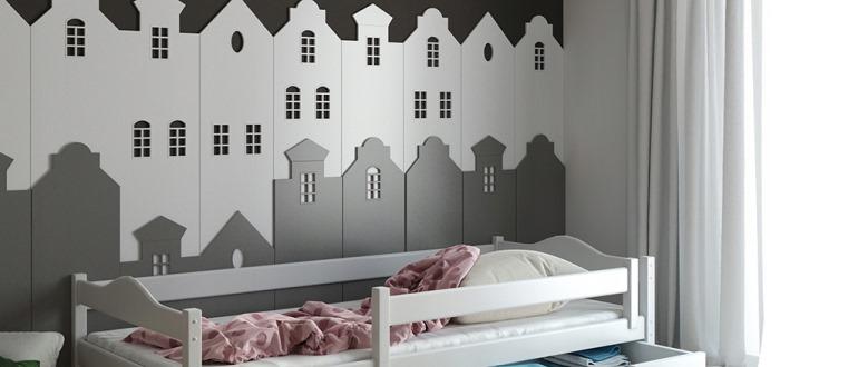 чертежи детской кроватки из дерева с размерами
